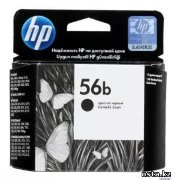 HP №56b C6656BE Simple Black Inkjet Print Cartridge
